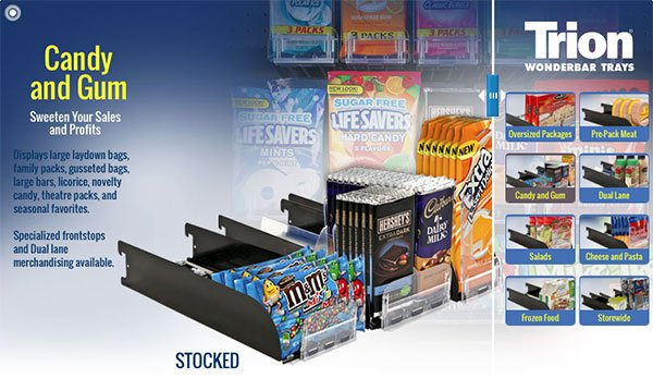 WonderBar® Bar Merchandising