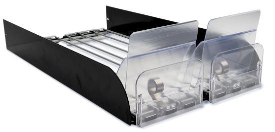 Extrawide Shelf Based Tray Merchandiser