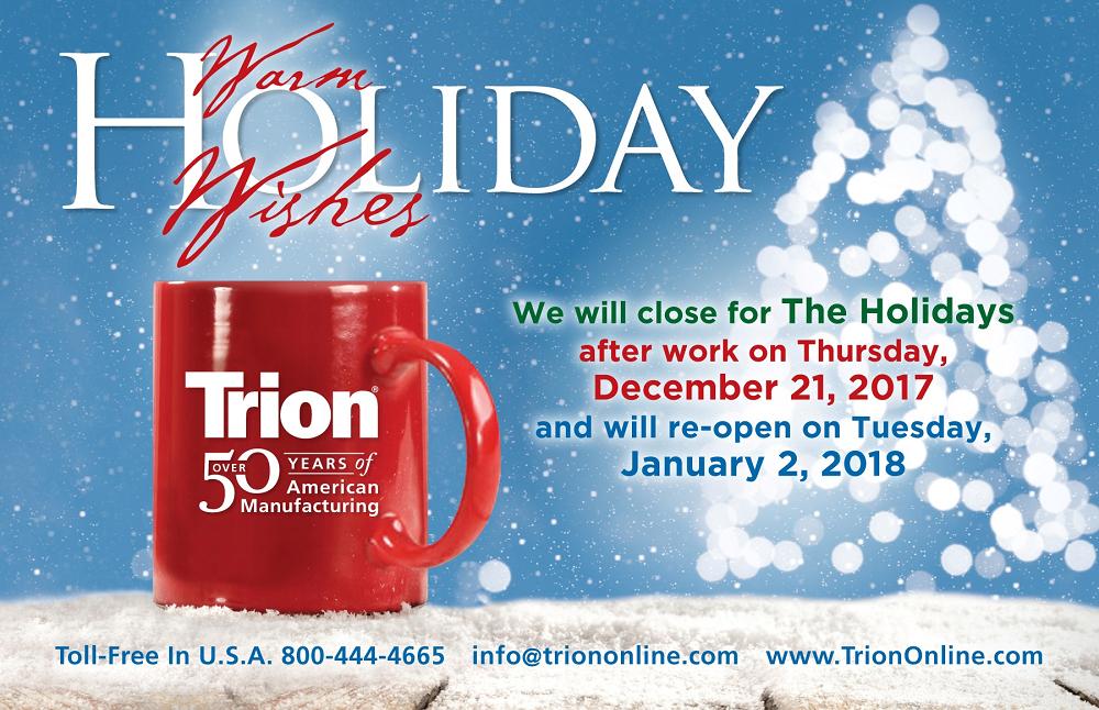 Trion-2017-Holiday-Shutdown